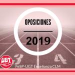 UGT informa [actualizado]: OPOSICIONES 2019. NOVEDADES.