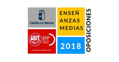 #UGT-OPOSICIONES CLM 2018 – Admitidos y excluidos provisional. Reclamaciones y subsanación hasta el 11/05/2018.