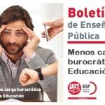MESA SECTORIAL 24/07/2020 – INSTRUCCIONES INICIO DE CURSO 20/21 – FESP UGT Enseñanza denuncia que la Consejería de Educación impondrá una excesiva carga de trabajo a los docentes a partir del 1 de septiembre.