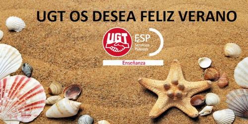 ¡FELIZ VERANO! – El Sector de Enseñanza de FeSP-UGT Castilla-La Mancha os desea un feliz verano.