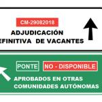 """Si eres interin@ en CLM y has aprobado en otra CCAA ponte """"no disponible"""" para posibilitar que otr@s compañer@s sean adjudicad@s con vacante."""