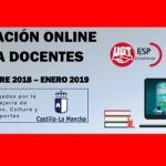 Formación online para docentes (homologada por JCCM) –  [septiembre 2018/enero 2019]