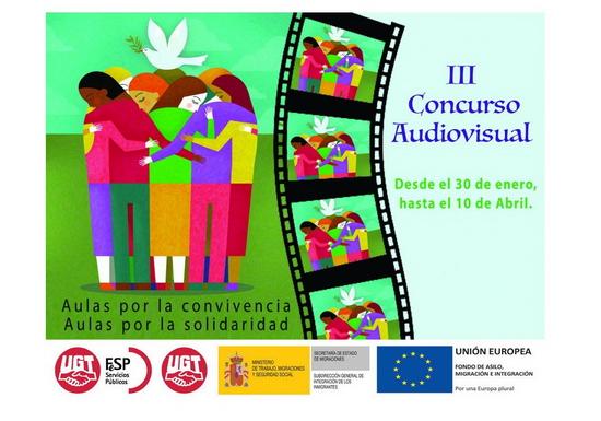 Convocado el III Concurso de audiovisuales 'Aulas por la convivencia'