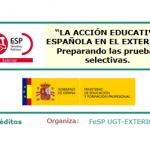 FORMACIÓN / EXTERIOR: Curso 'Acción Educativa Española en el Exterior: preparando las pruebas selectivas'
