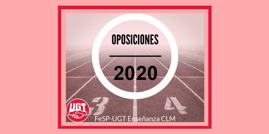 UGT informa [actualizado]: OPOSICIONES 2020. NOVEDADES.