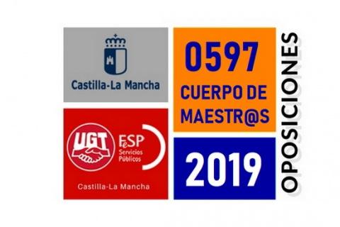 #UGT-OposicionesCLM2019 — RATIOS OPOSITOR-PLAZA DEFINITIVOS