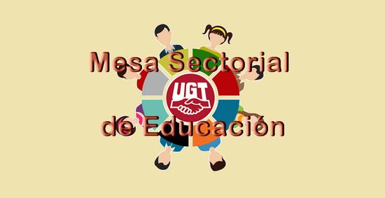 UGT en contra del total inmovilismo de la Mesa Sectorial de Educación Pública no universitaria en CLM