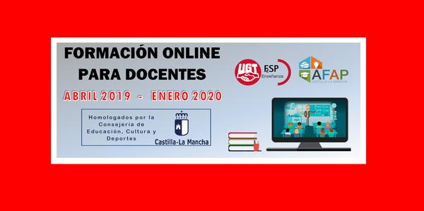 Formación online para docentes (homologada por JCCM) –  [abril 2019/enero 2020]