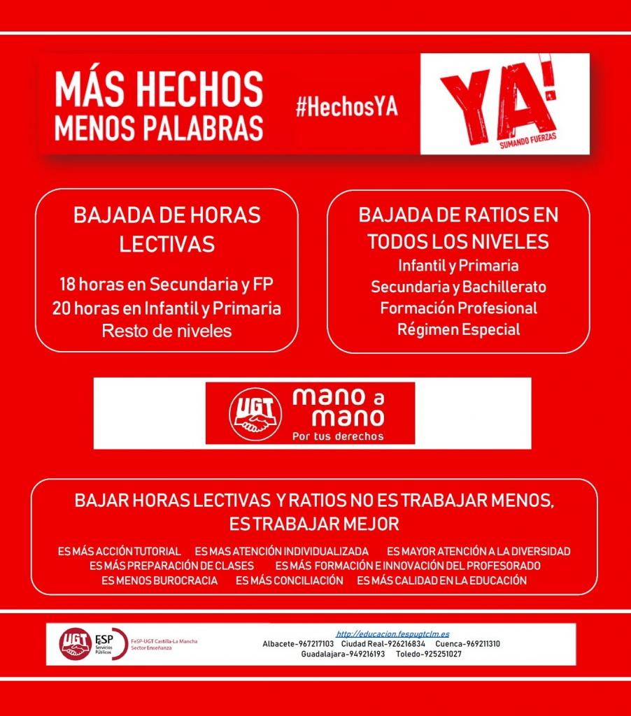Calendario Laboral Madrid 2020 Ugt.Ensenanza Fesp Ugt Clm Sector Ensenanza De La Federacion