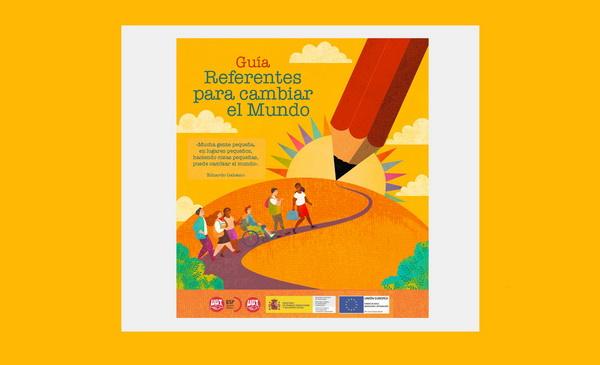 Aula Intercultural UGT Enseñanza – Referentes para cambiar el mundo. Guía didáctica y calendario escolar.