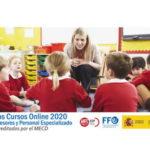 |  Nuevos cursos online para profesorado | febrero-abril 2020 |  Acreditados por el MEFP  |