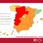 UGT INFORMA: Situación de las oposiciones previstas en 2020 en las diferentes Comunidades Autónomas