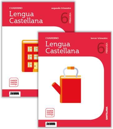 EDITORIAL SANTILLANA – Cuadernos Lengua y Matemáticas 2º y