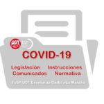 COVID-19  –  Toda la normativa, instrucciones y comunicaciones de interés para el profesorado de Castilla-La Mancha
