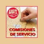 COMISIONES DE SERVICIO  – Publicada convocatoria. Solicitud del 07 al 20 de abril de 2021. GUÍA RESUMEN. ASAMBLEAS INFORMATIVAS ONLINE.