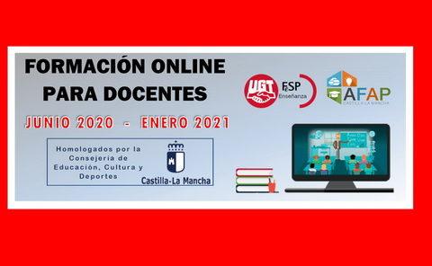 Formación online para docentes (homologada por JCCM) –  [junio 2020/enero 2021]