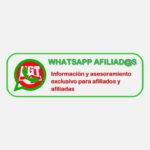 INFORMACIÓN Y ASESORAMIENTO PARA AFILIADOS Y AFILIADAS A TRAVÉS DE WHATSAPP