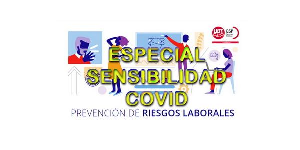 |  FeSP UGT Enseñanza CLM INFORMA  | Situación de embarazadas y otros colectivos especialmente sensibles  |  Instrucciones, documentación    |    Medios de contacto con los Servicios de Prevención Provinciales  |