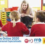 Cursos de formación online específicos para personal docente del segundo semestre  – Programaciones y unidades didácticas. Contenidos digitales.