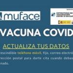 MUFACE – VACUNACIÓN – Campaña informativa y de actualización de datos de mutualistas.