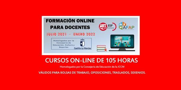 Formación online para docentes (homologada por JCCM) –  [julio 2021/enero 2022]