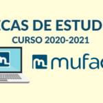 MUFACE – BECAS DE ESTUDIO 2020/2021 – Abierto plazo de solicitud de becas de estudio para mutualistas.