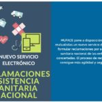 MUFACE –   Nuevo servicio electrónico para reclamaciones por asistencia sanitaria nacional de Entidades Concertadas
